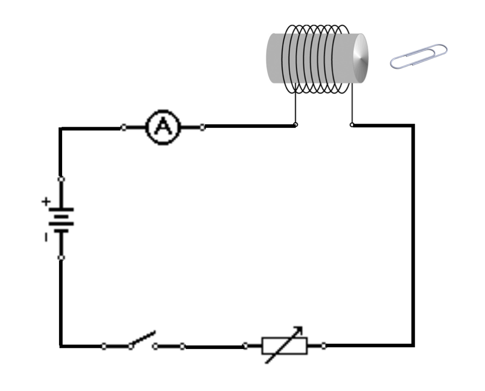 electromag_circuit A Circuit Diagram Of An Electromagnet on